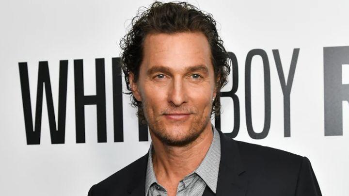 Matthew McConaughey se sincera y revela haber sido víctima de abuso sexual