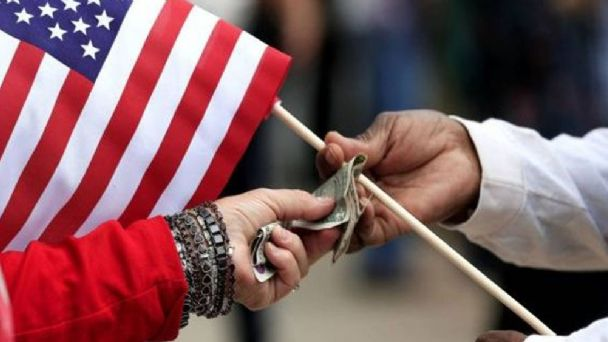 La economía de Estados Unidos registró una caída trimestral récord de 32,9%
