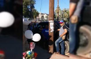 Familiares rinden homenaje a Policías caído hace un año durante balacera