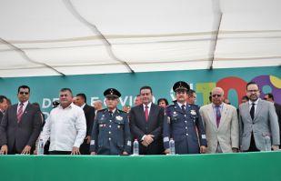 FOTOS: Así fue el desfile del inicio de la Revolución Mexicana en Hermosillo