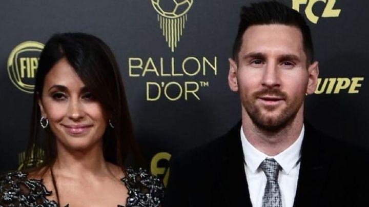 Tras ganar la Copa América, Lionel Messi vive emotivo recibimiento por su esposa, en Argentina
