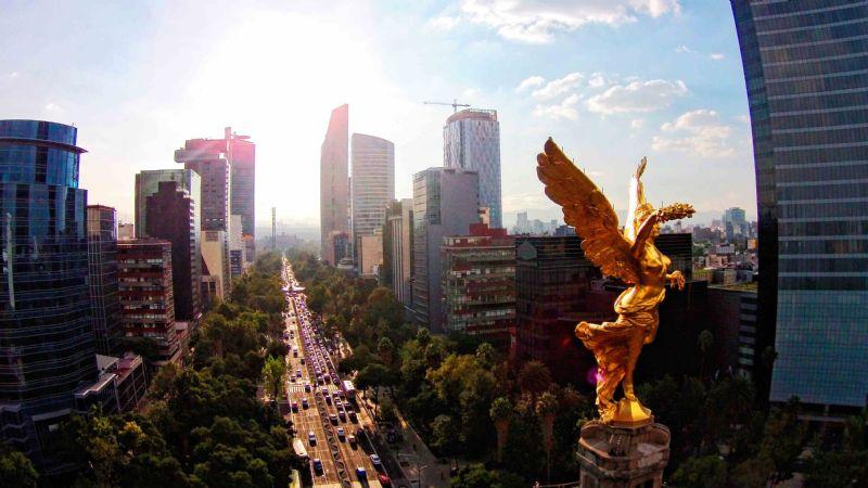 Este es el pronóstico del clima para la Ciudad de México este 10de enero