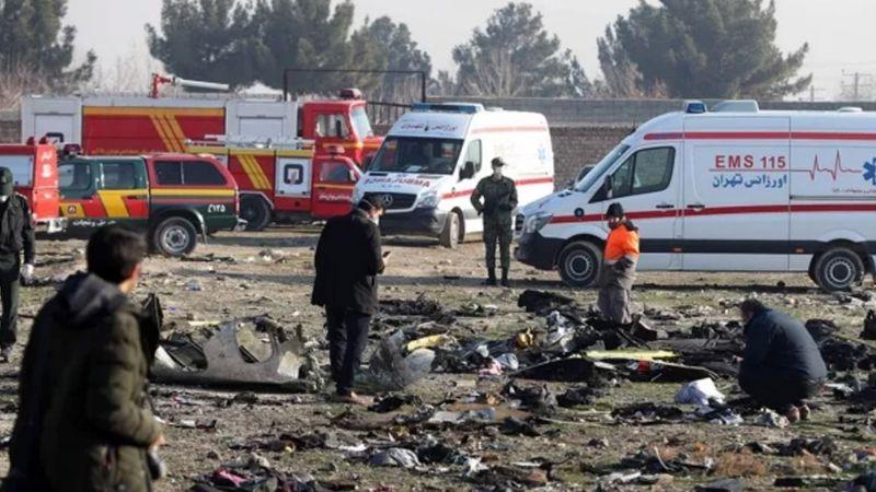 """UE pide investigación """"independiente y creíble"""" del avión caído en Teherán"""