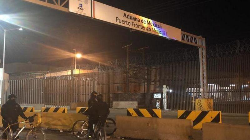 Por supuesto arribo de iraníes, activan 'Escudo Frontera' en garitas de Mexicali