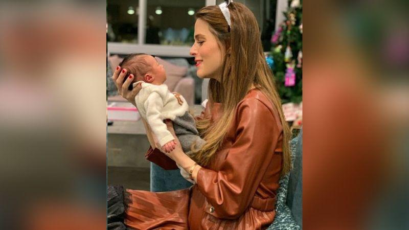 """""""Qué bellas"""": Claudia Álvarez enternece al posar desnuda con su recién nacida"""