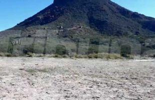 En menos de 24 horas, colocan y retiran cerco perimetral en el cerro Tetakawi