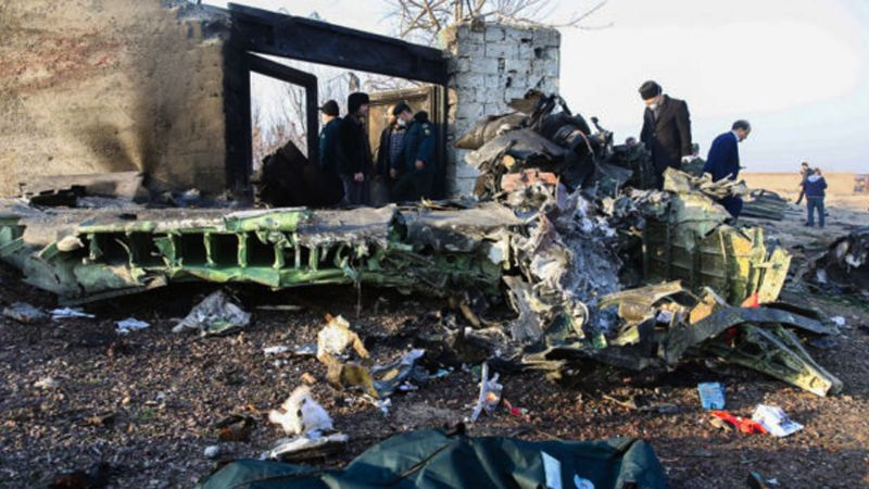 Tras el accidente de avión en Teherán, Irán deberá responder por las víctimas