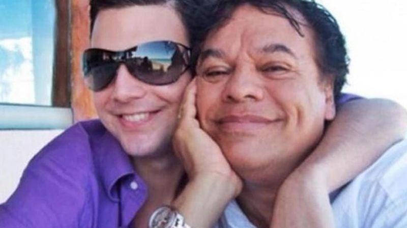 Último amor de Juan Gabriel 'explota' y 'pinta dedo' al ser captado en Sonora