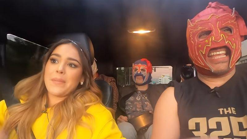 Danna Paola le confiesa al 'Escorpión Dorado' si se peleó con Belinda en el CEA