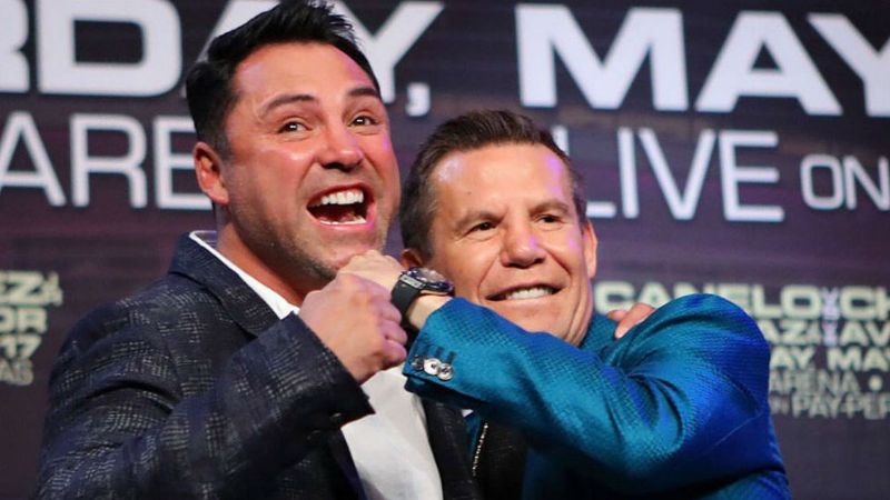 Julio César Chávez va por la tercera pelea contra Óscar de la Hoya