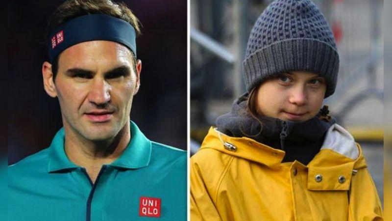 Tras polémica con Thunberg, Federer dice que el cambio climático le importa
