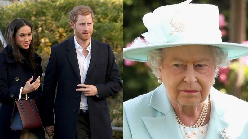 """Reina Isabel II estaría """"aterrada"""" que Meghan se queje de la realeza en público"""