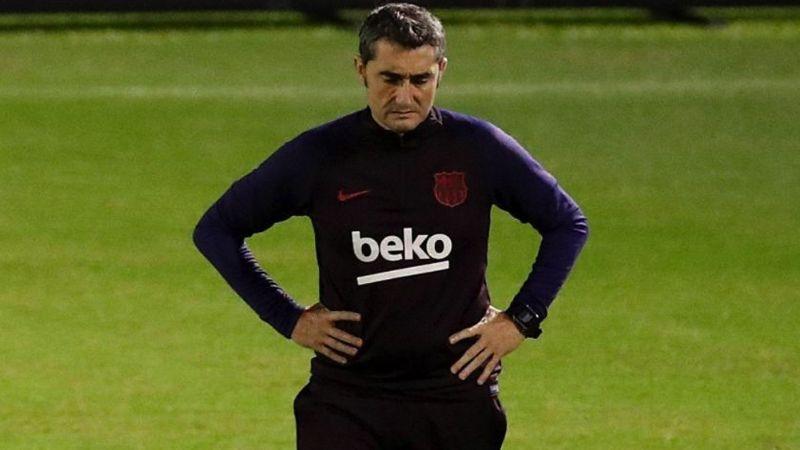 De manera oficial, Ernesto Valverde queda fuera del Barcelona como DT
