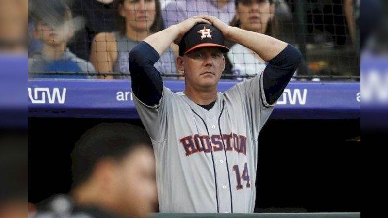 Por robo de señales, Astros de Houston despide a mánager y gerente