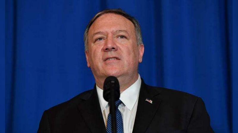 """Pompeo llama """"canallas"""" al régimen de Irán por lo ocurrido en protestas"""