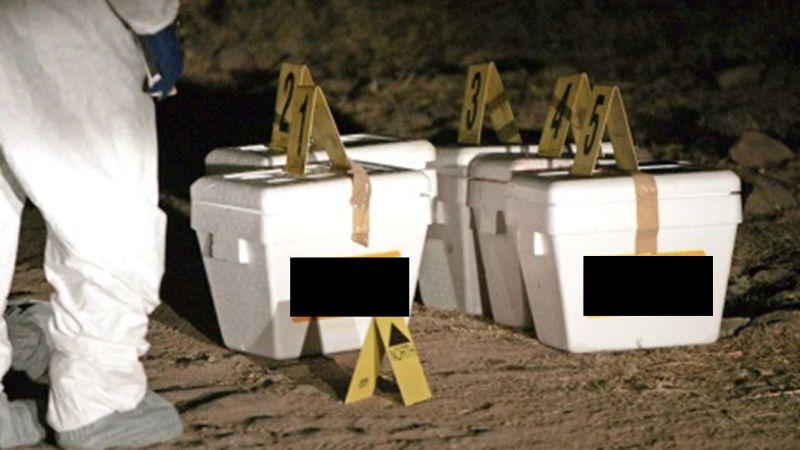Tras 11 años, recuerdan el macabro hallazgo de 5 cabezas en hieleras