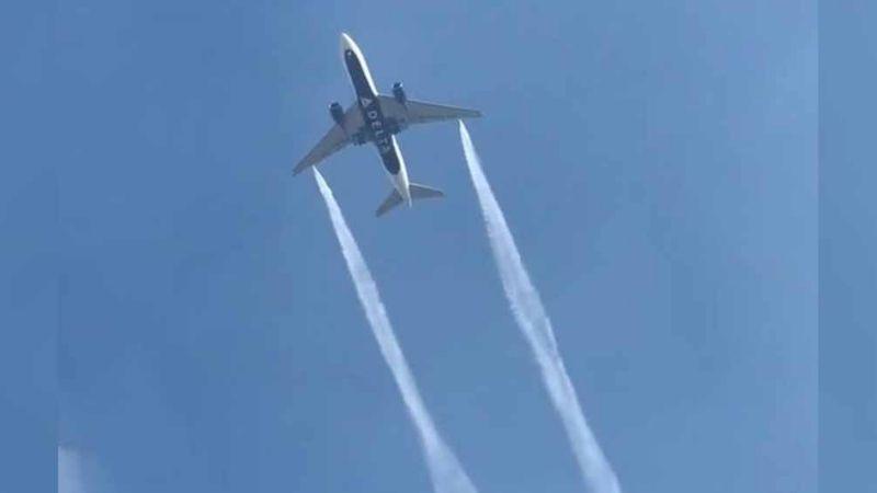 Avión lanza combustible sobre dos escuelas en LA; hay menores heridos