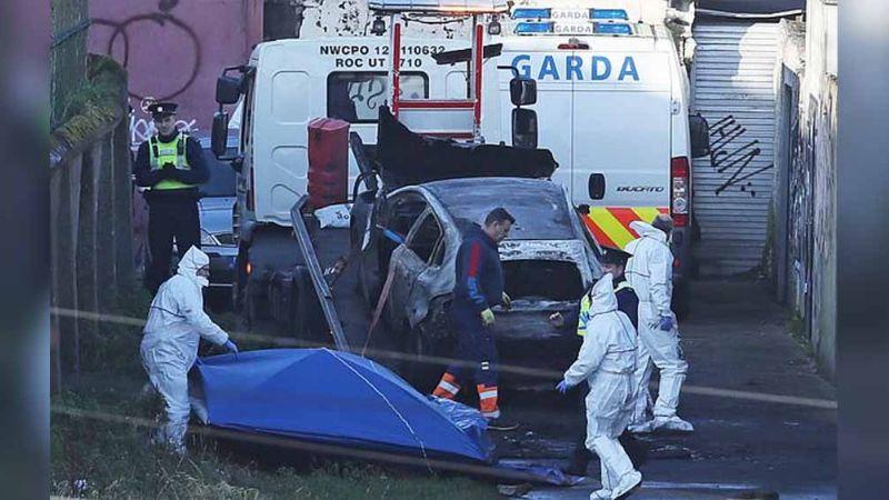 Tras encontrar extremidades en bolsa, Policía halla cabeza en auto incendiado