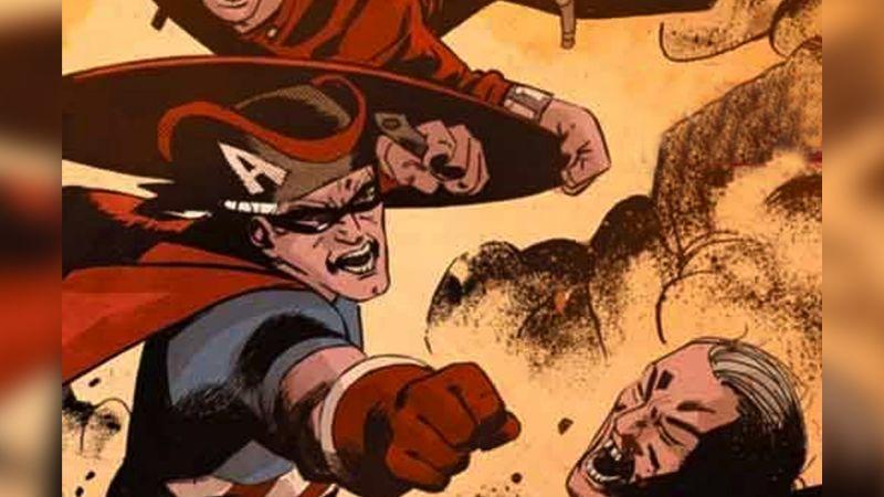 El original 'Capitán América' de 1783 es presentado en un cómic de Marvel