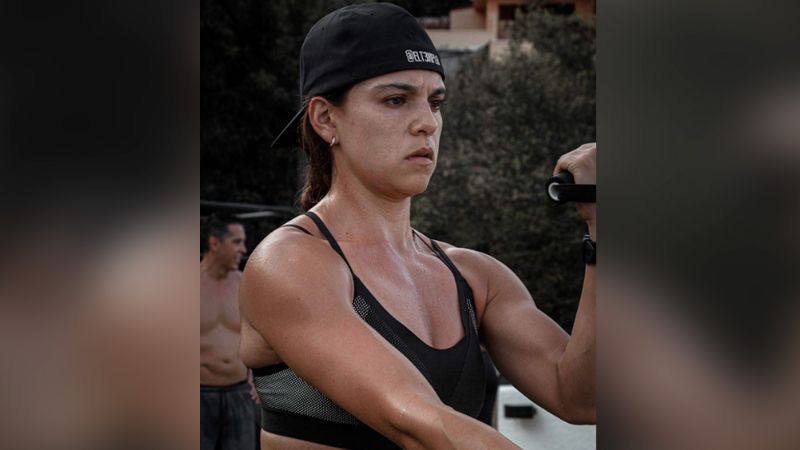 VIDEO: Así se ejercita Tania Rincón para conservar su cuerpo de infarto