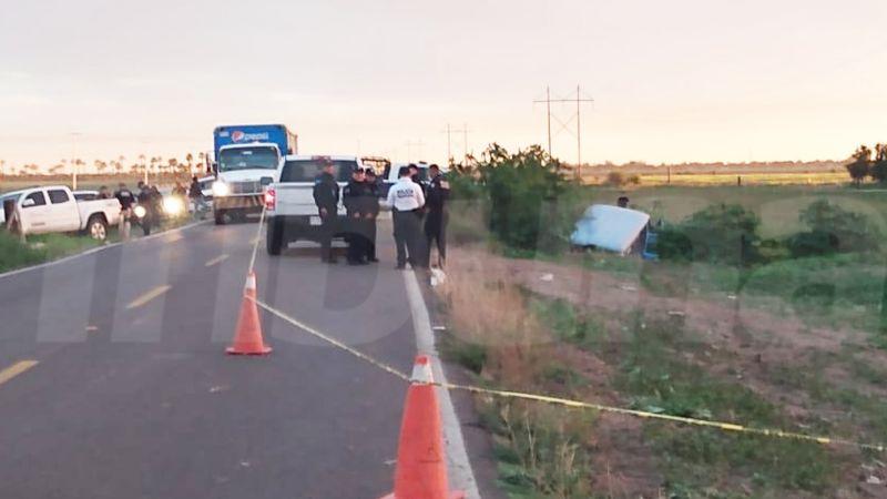 Lesionados en accidente carretero son trasladados a hospitales de Hermosillo