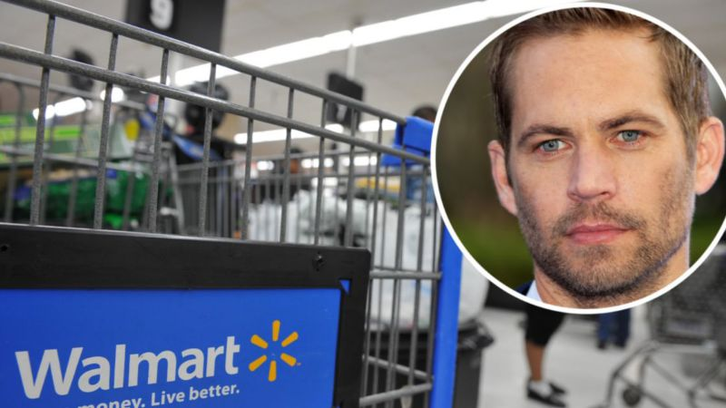 Paul Walker inspira broma de Walmart que indignó a los internautas