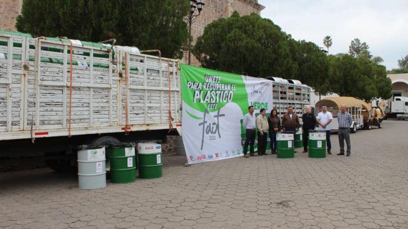 En el Festival Cultural de Álamos buscan fomentar el reciclaje de plástico