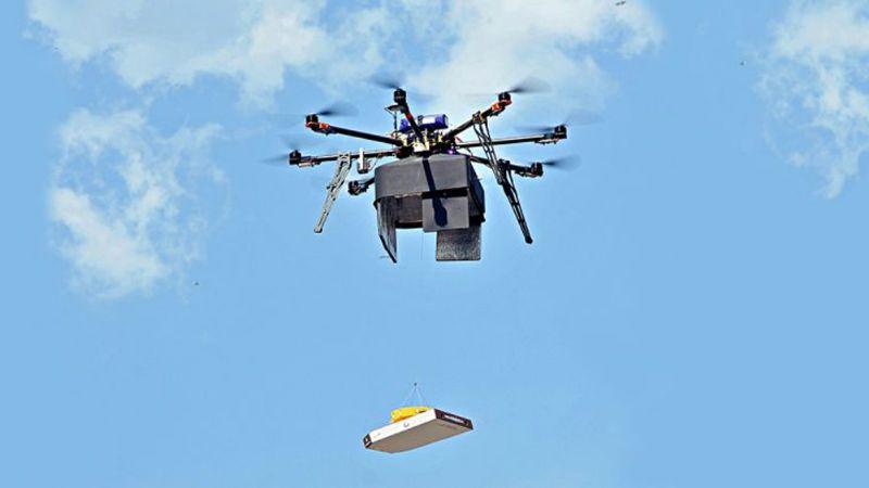 Adiós a los repartidores en motocicleta: Drones entregan las pizzas en Alaska