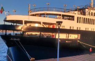 El crucero Astoria llega a Guaymas con buena expectativa económica