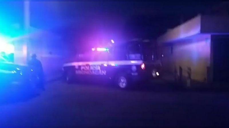 Atacan a policías en Morelia; un oficial herido y 3 agresores abatidos