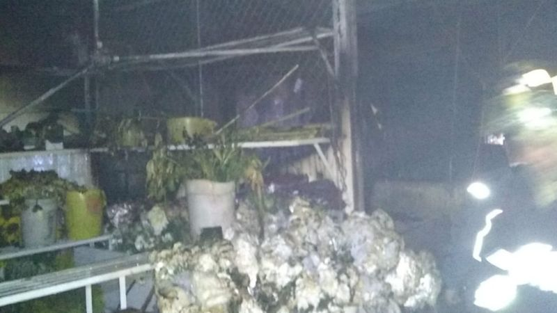 CDMX: Voraz incendio consume el Mercado de las Flores en Xochimilco