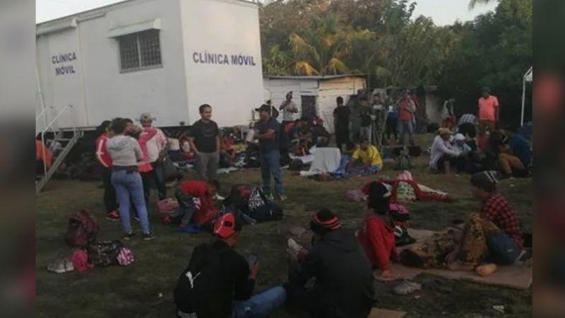 Migrantes iniciarán huelga de hambre si el paso por México se les niega