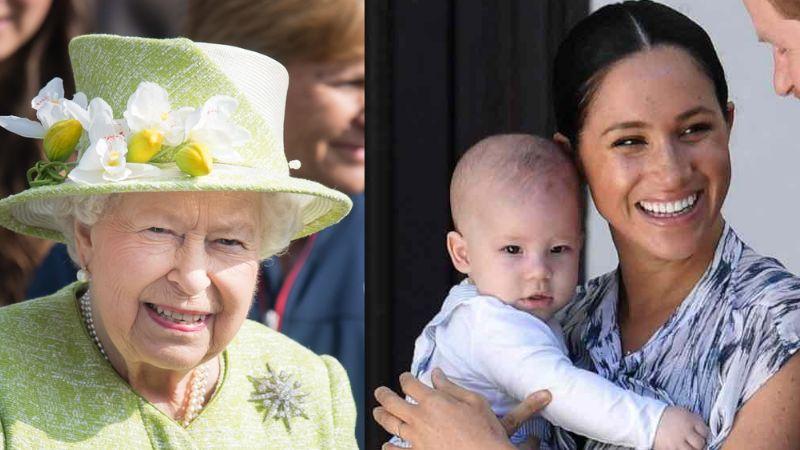 """Reina Isabel II podría decidir quedarse con Archie por """"temor"""" a su futuro"""
