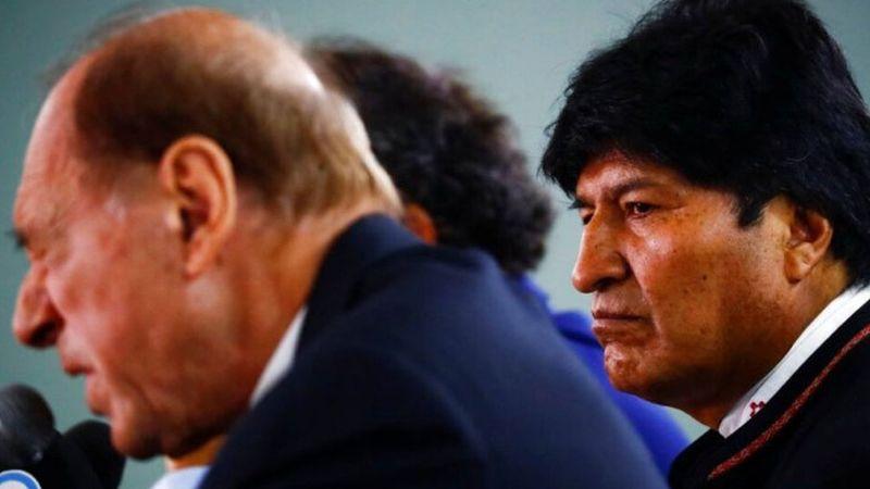 Evo Morales ya tiene abogados: Uno es exjuez de Corte Suprema argentina