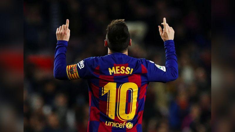 Messi es el máximo goleador durante el período de 2010-2019 con 522