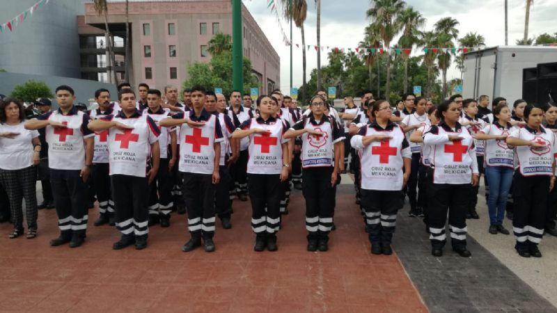 Cruz Roja atendió 56 reportes previos a la llegada del año nuevo