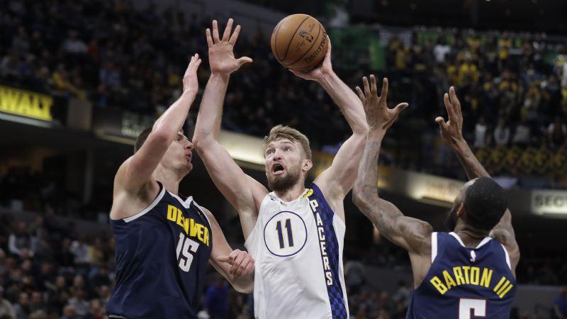 Los Nuggets le dan la vuelta en la segunda mitad a los Pacers