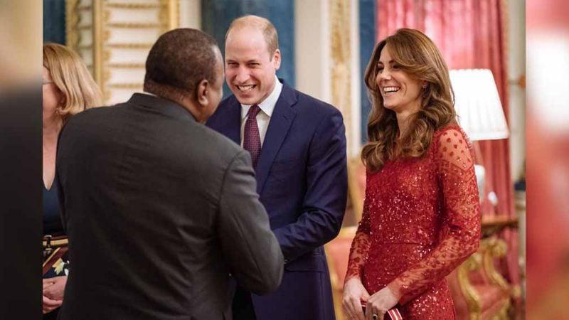 Sonrientes, Kate y William asisten a su primer compromiso desde el #Megxit