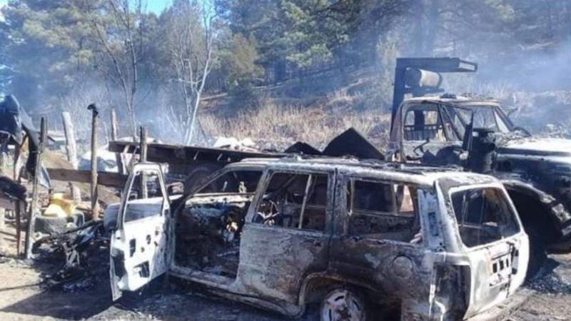 """Grupo que incendió Madera es el mismo que atacó a mi familia"": LeBarón"