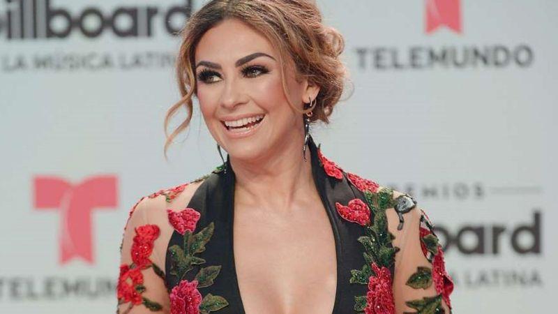 VIDEO: Aracely Arámbula deleita con escote en candente escena de 'La Doña'