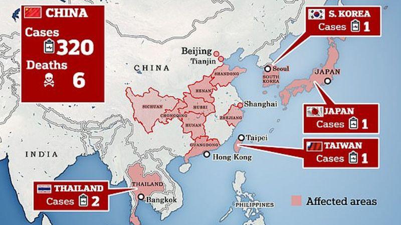Alerta en EU: Detectan primer infectado del mortal coronavirus de China