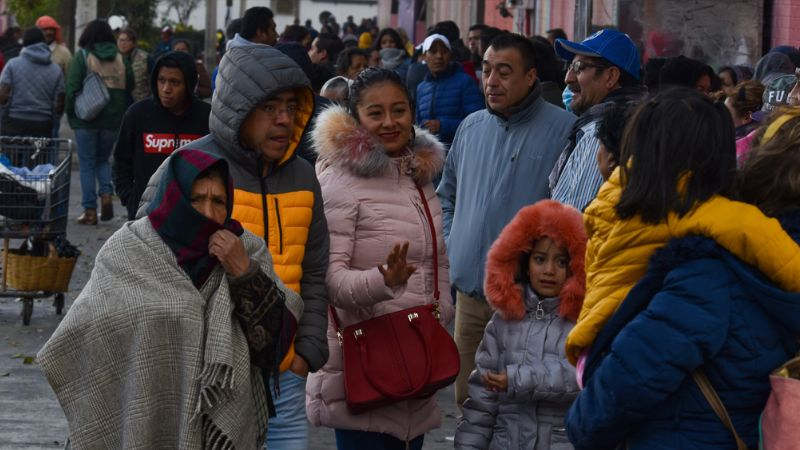 UNAM emite recomendaciones por el descenso de temperaturas en el país