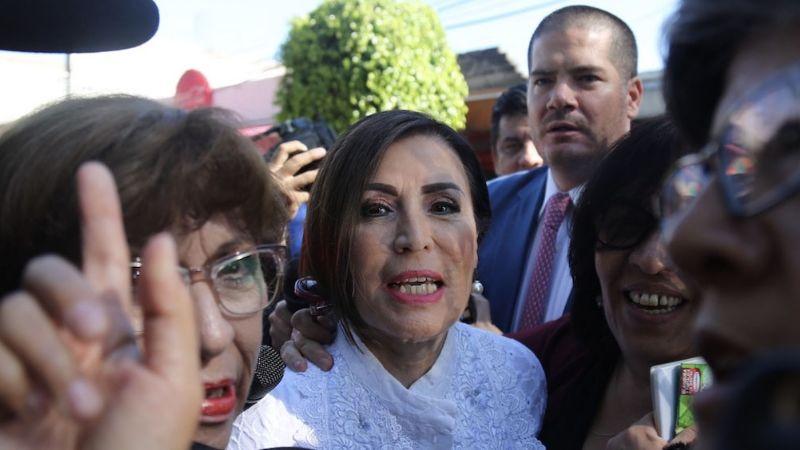 """""""Me abandonaron"""": Una flaca Rosario Robles clama desde Santa Martha"""