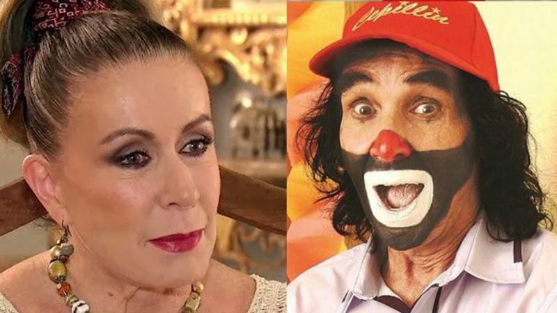 """Maldice a tu familia"": Cepillín a Laura Zapata por insultar a nieto de AMLO"