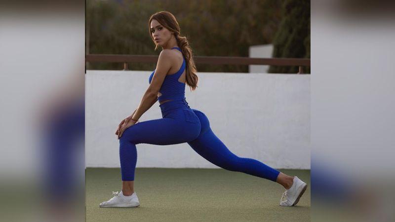 Yanet García provoca al presumir su elasticidad y gran trasero en leggings