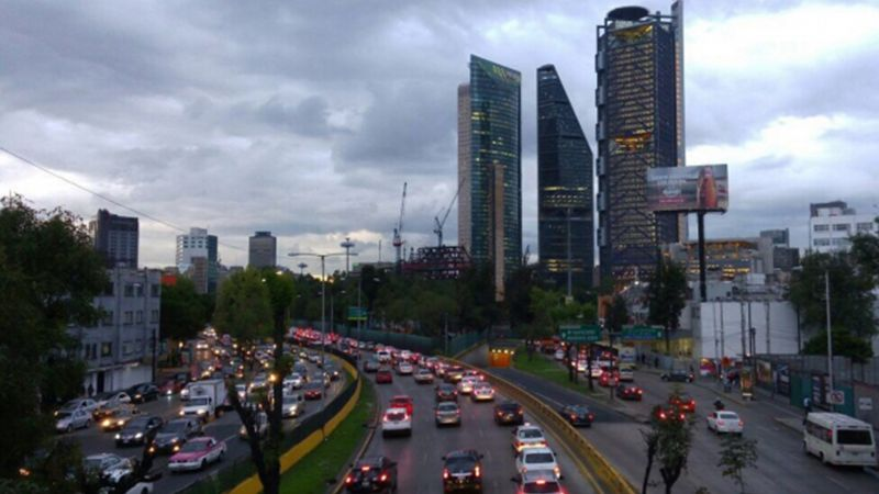 Este es el pronóstico del clima para la Ciudad de México este 24de enero