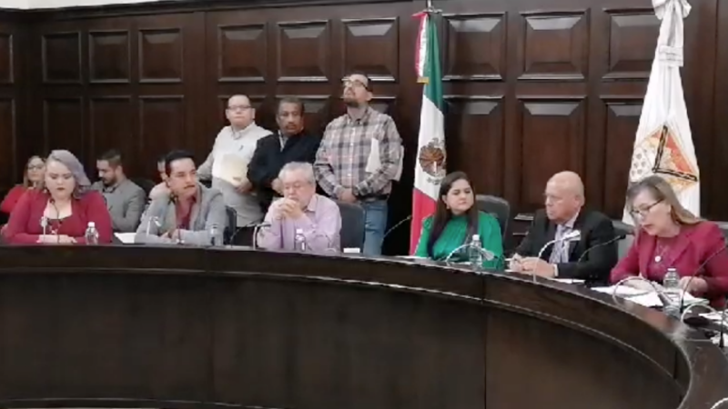 Se realiza en Hermosillo, Sonora sesión de cabildo para temas de alumbrado