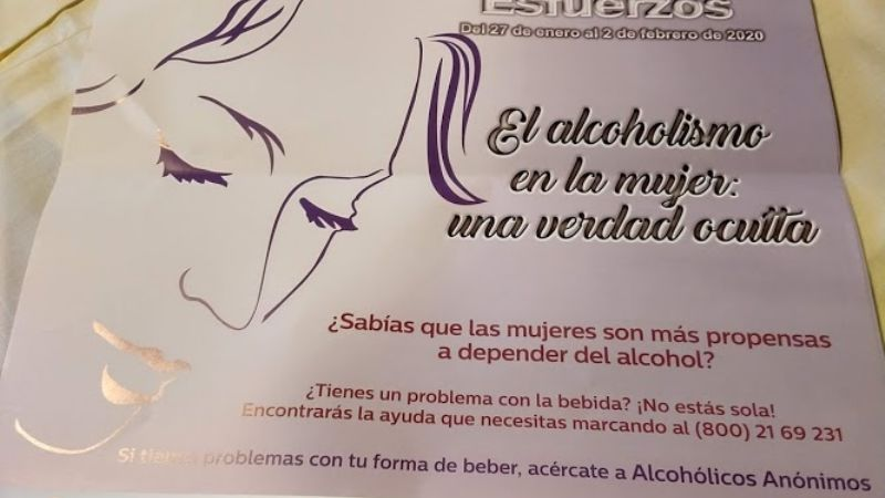 Alcohólicos Anónimos realizará platicas durante Semana Nacional en Cajeme