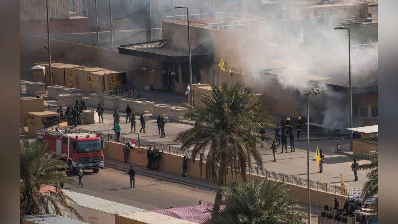 Cinco cohetes impactan cerca de la embajada estadounidense en Irak