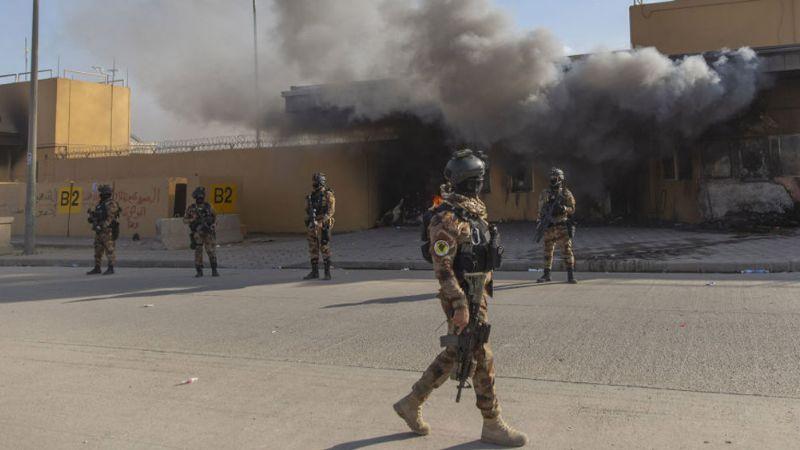 Tres misiles impactan la embajada de EU en la capital de Irak
